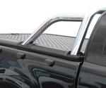 Alu Laderaumabdeckung für Ford Ranger Limited mit werkseitigem Überrollbügel