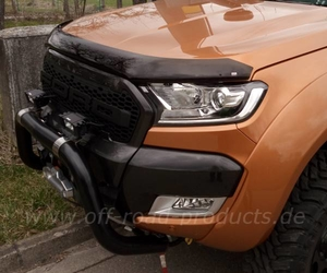 Ford ranger superguard motorhauben windabweiser 7