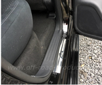 Einstiegsschutzleiste Chrom Nissan Navara NP300