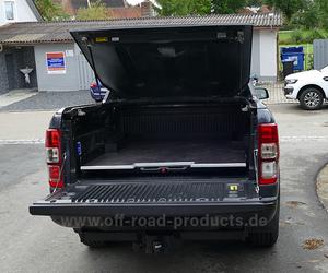 Ford ranger wildtrak laderaumabdeckung werk hinten