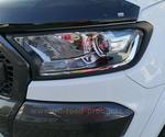 Scheinwerferumrandungen 4-teilig Ford Ranger