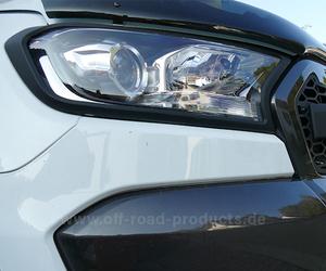 Scheinwerferumrandung ford ranger detail