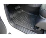 Gummi-Fußmatten Set Nissan Navara NP300 DC