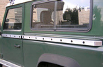 Land Rover Defender 90 Body Slider