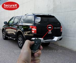 Heckklappenverriegelung SecureX Fiat Fullback