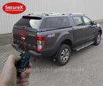 Heckklappenverriegelung SecureX Ford Ranger