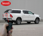Heckklappenverriegelung SecureX Toyota Hilux Revo