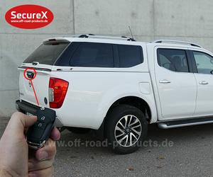 Heckklappenverriegelung SecureX Nissan Navara NP300