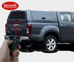 Heckklappenverriegelung SecureX Isuzu Dmax
