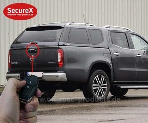 Heckklappenverriegelung SecureX Mercedes X-Klasse