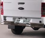 Heckstoßstange 63 mm in Inox oder schwarz Ford Ranger