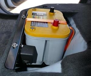 Batteriehalterung ford ranger 2