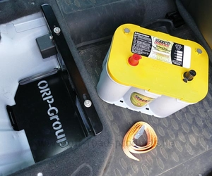 Batteriehalterung ford ranger 3