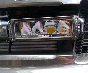 Lazer fernscheinwerfer kit superbeamer ford ranger 3