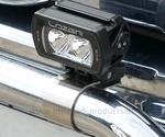 Scheinwerferhalterungen 60 mm chrom