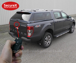 Heckklappenverriegelung SecureX Ford Ranger - AT