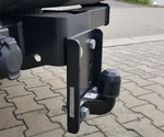 Adapterplatte anhaengerkupplung ford ranger 2