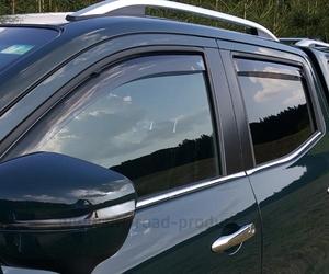 Windabweiser Set Mercedes X-Klasse DC vorne +  hinten