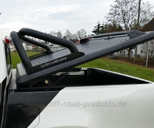 Laderaumabdeckung mercedes x klasse orp group black 5