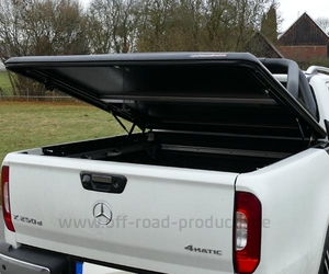 Laderaumabdeckung mercedes x klasse orp group black 7