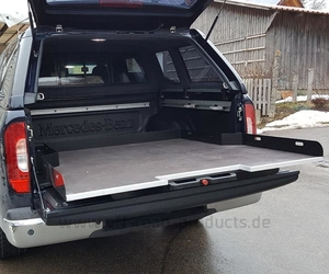Ladeflächenauszug Heavy-Duty Mercedes X-Klasse