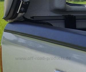 Heckkantenschutz mit hardtop ford ranger 2