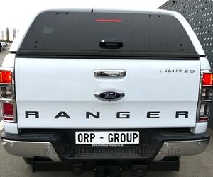 Hardtop Aeroklas Aufklappseitenfenster Ford Ranger