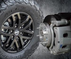 Spurverbreiterung 36 Ford Ranger Raptor 2019+