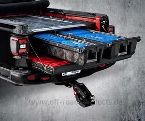 Decked schubladensystem jeep gladiator 2