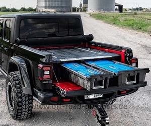 Decked schubladensystem jeep gladiator 3