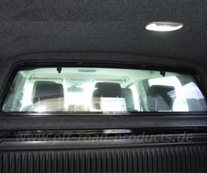 Nissan d23 alpha hardtop type e  trennscheibe