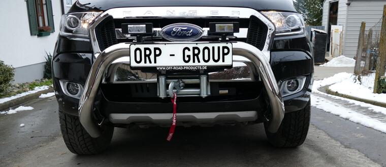Seilwindenanbaukit Ford Ranger