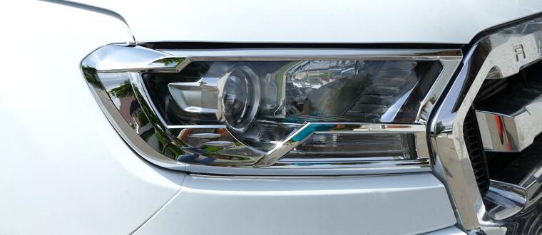 Scheinwerferumrandungen Deluxe 4-teilig Ford Ranger