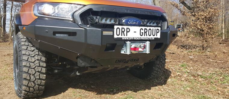 Windenstoßstange für den Ford Ranger